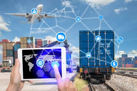 70275467-hand-holding-tablet-is-pressing-button-logistics-connection-technology-interface-global-partner-conn